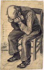 Van Gogh Drawings: Worn Out - Fine Art Print