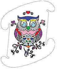Owl Color Infinity Lights Puzzle Light LuvaLamp Jigsaw Iq Light 10 pcs Usa