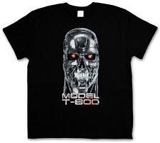 T-800 CYBORG SKULL HEAD T-SHIRT - Cyberdine Systems Skynet Terminator T-Shirt