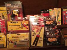 Lansky+Smiths+Kershaw+Dual Sharp+Excalibur+EziLap+Warthog+TnT+Schrade Sharpeners