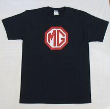 MG MGTC MGTD MGTF MGA MGB MGBGT Midget T Shirt 100% Cotton Tee Assorted Colors