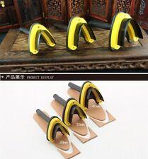 Steel Type V style Corner Round Punch Leather Craft Tools handwork Belt Diy