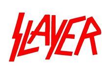 Slayer Thrash Metal Band Vinyl Decal Car Truck Window Guitar Laptop Sticker