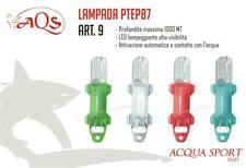 Lampada Flash Led Light Art. 9 AQS Acquasport 1000 mt Lunghezza 95 mm