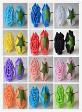 8CM Home Decorative Artificial Rose Flowers Wedding Bride Bouquet DIY PE Foam