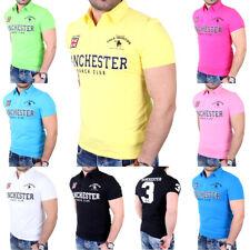 Reslad Poloshirt Herren Clubwear Polo Kragen Manchester T-Shirt Hemd RS-277