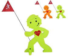 StreetBuddy - 1 Stück - Warnfigur, Warnaufsteller, Warnschild Kindersicherheit