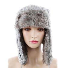 760c80016193d Winter Warm Hat Russian Trooper Faux Fur with Earflap and Windproof Unisex Z