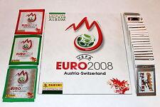 Panini EM EC Euro 2008 08 – SATZ KOMPLETT ALLE STICKER COMPLETE SET + ALBUM