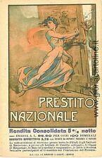 CARTOLINA d'Epoca MILITARE:  PRESTITO NAZIONALE Petroni
