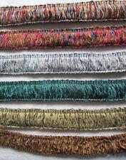Upholstery Fringe    various colours per metre