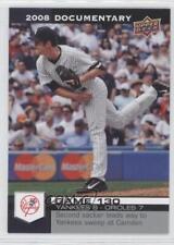 2008 Upper Deck Documentary #3867 Mike Mussina New York Yankees Baseball Card