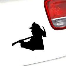 Fireman Firefighter Funny Decal Car Laptop Window Wall Bumper Vinyl Sticker