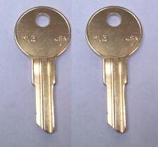 DeeZee Tractor Supply Tool Box Keys Pre-Cut To Your Key Code Codes EC801-EC820