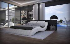 Wasserbett Mood Komplettset Doppelbett Design Bett Steppung und LED Beleuchtung