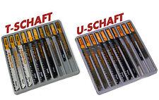 Stichsägeblätter T-Schaft - U-Schaft  Bosch Metabo AEG Skil Ryobi Makita Dewalt