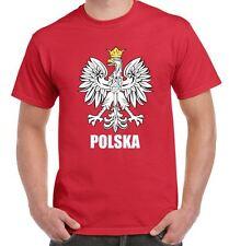 Polish Eagle Polska Flag Men's T-Shirt - Poland Football