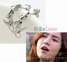 Korean drama Love Rain JANG KEUN GEUN SUK Twister Triple ring Earrings B1A4 2pm