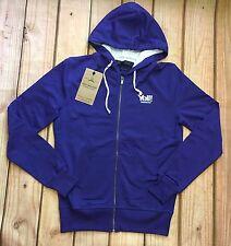 Yell High-end Men's Purple Sweatshirt Hoodie Athletic Full Zipper High Quality