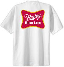 Hockey High Life T-Shirt Jersey Short Sleeve Hockey Tee New Adult and Youth Size