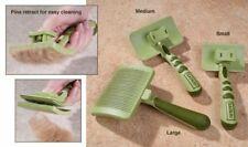 Safari Self-Cleaning Dog Slicker Brush Pet Grooming Reduce Shedding Healthy Coat