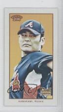 2009 Topps 206 Mini Polar Bear #28 Kenshin Kawakami Atlanta Braves Rookie Card