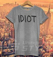IDIOT T-shirt Michael Cliford 5 SECONDS OF SUMMER Tumblr Fashion T Shirt unisexe