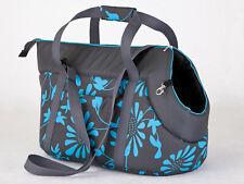TRENDY Hundetragetasche ,Transport-Tasche *BLUE FLOWER* dogszone Größen WAHL