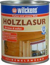 Holzlasur seidenglanz Aqua Innen/Außen,geruchsarm Wilckens 10 Farbtöne wählbar