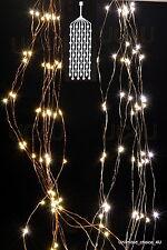 40/64/80/100/200/300 Stränge LED Micro Draht Lichterkette Leuchtdraht biegsam