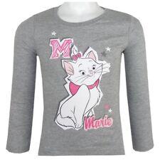 DISNEY t-shirt MARIE les aristochats 2 6 ou 8 ans gris haut NEUF
