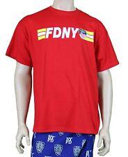 FDNY Short Sleeve Keep Back 200 Feet T-Shirt Red