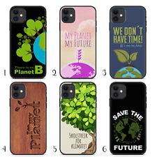 Handyhülle Save the Planet für iPhone Apple Silikon Greta Klima Future Fridays