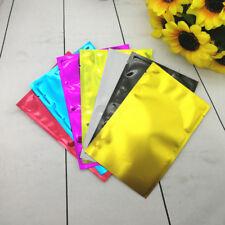 50 Confezione da Colori Lamina di Alluminio Borsetta Imballaggio Borsa