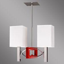 Raffa 2 Moderne Hängelampe Hängeleuchte Art-Deco NEU Lampe 3 Farben Leuchte TOP