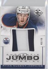 2012-13 Panini Limited Authentic Jumbo Material Prime #JJ-RN Ryan Nugent-Hopkins