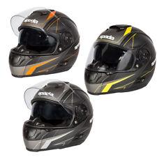 Spada Sp16 Linear Full Face DVS Motorbike Motorcycle Helmet Scooter Bike Matt