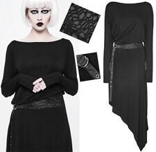 Robe loose asymétrique gothique punk lolita ceinture résille fashion Punkrave