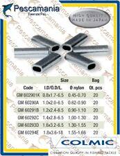 Tubetti Colmic ovali in alluminio per fissaggio terminali
