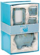 Brubaker My First Piggy Bank Gift Set for Babies - 4 Pcs Keepsake Gift Set