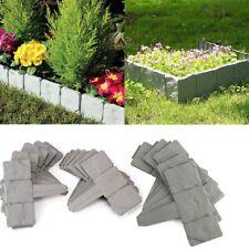 10 20 30 40 50 Garden Lawn Grass Border Path Edging  Brick Effect Hammer in 12m