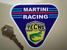 "TECNO MARTINI RACING Triangle Race Car STICKER 4"" Formula One F1 F2 F3 Karting"