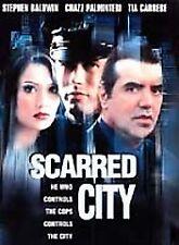 SCARRED CITY rare dvd Elite Violent Cops CHAZZ PALMINTERI Stephen Baldwin Mint