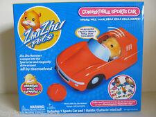 Zhu Zhu pets - Convertible Sports Car - Includes Sports Car & Rattlin Mini Ball