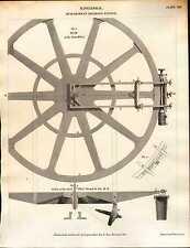 1810 motori a stampa DATATO ~ SIGNOR ramsdens dividendo piano del motore di grande ruota ecc.