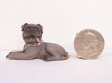 """NEW Brindle BullMastiff Dog 2"""" Figure Figurine Hood Hound Bull Mastiff"""