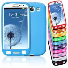 Smart Bean Plain Suave Silicona Big Button Lte Funda Protectora Para Samsung Galaxy S3