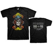 GUNS N ROSES - Appetite Tour 1988 - T SHIRT S-M-L-XL-2XL Brand New - Official
