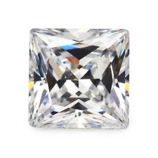 Size 1.5x1.5~12x12mm Square Shape Princess Cut Cubic Zirconia Stone Loose CZ