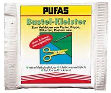 Pufas Bastel-Kleister 50g 1x=13,30€/100g, 5x=7,58€/100g, 10x=5,59€/100g Kleister